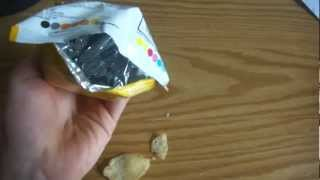 Nearly empty bag of lays