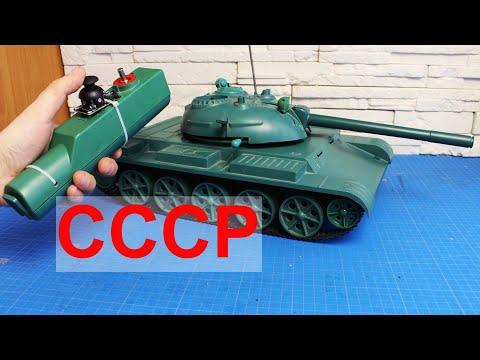 Переделка танка из СССР на радиоуправление. Часть 1