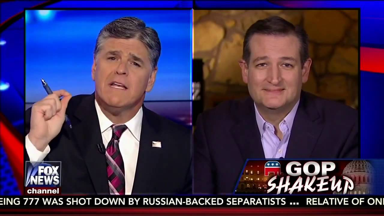 Ted Cruz Discussses New Fox News Poll And More With Sean Hannity