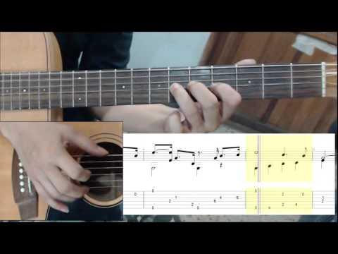 เพลงพระราชนิพนธ์ ใกล้รุ่ง Cover Guitar & TAB
