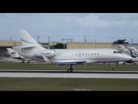 Private Jet Action In Grand Cayman! A Planespotting Compilation