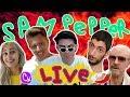 Peanut butter yoga w/ Hannah  | Sam Pepper Live Stream