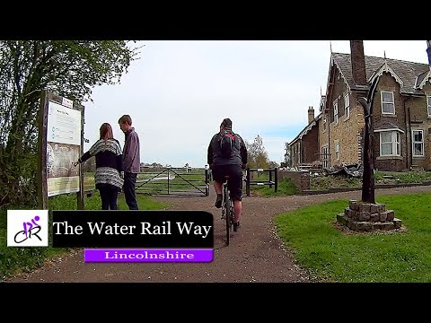 Cycling The Water Rail Way Lincoln to Tattershall Castle 2017