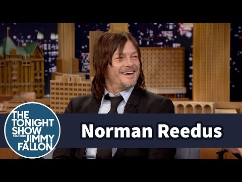 Norman Reedus' Drunken Yelling Got Him Discovered