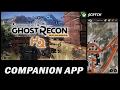 Companion App Ghost Recon Wildands