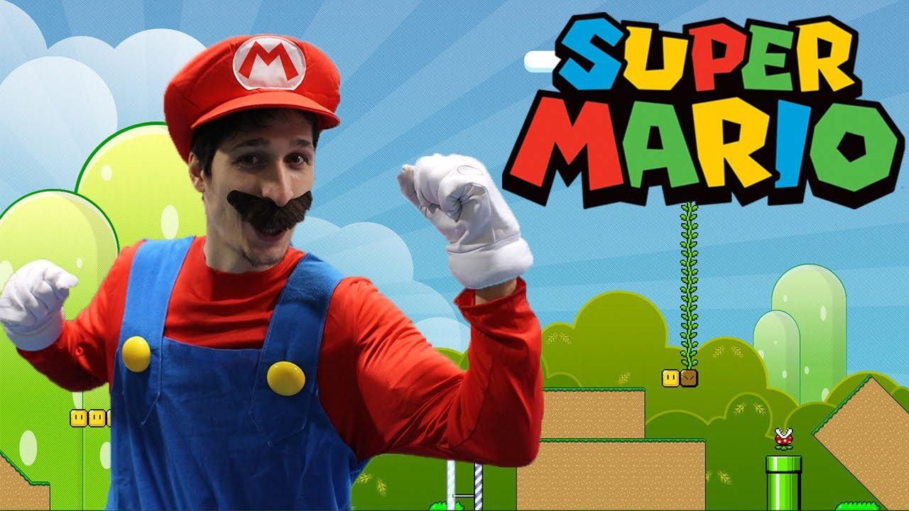 Super Mario Bros In Real Life A Day In The Life Of Mario Youtube