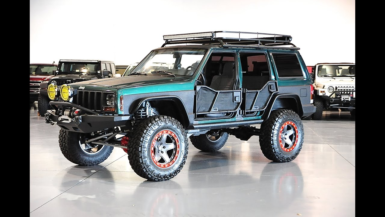 Cherokee Xj For Sale >> Davis AutoSports STAGE 6 LIFTED CHEROKEE XJ FOR SALE 3 OF 3 - YouTube