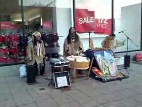 African Band in the City Center, University of Plymouth