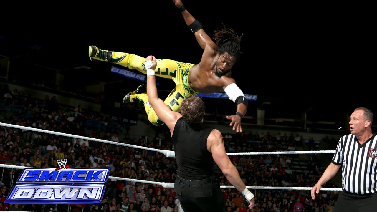 Dolph Ziggler, Rob Van Dam & Kofi Kingston vs. The Shield: SmackDown, Sept. 27, 2013