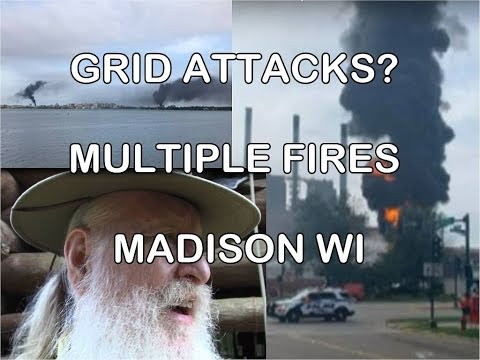 Grid Attacks   Multiple Substation Fires Madison W