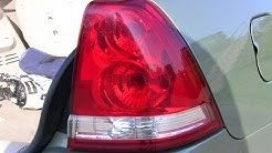 How-to replace a cars rear signal light!