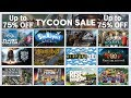 Humble TYCOON GAMES SALE! ► UPTO 75% OFF Cities Skylines-Frostpunk-Banished and MANY more!