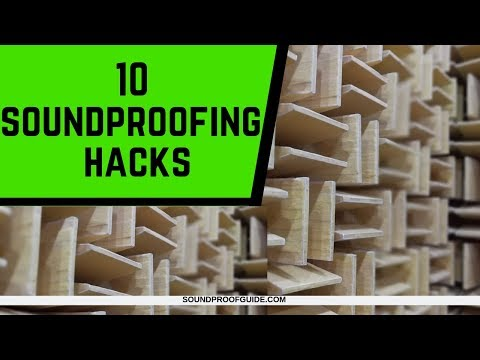 10 Cheap Soundproofing Hacks You Should Do!