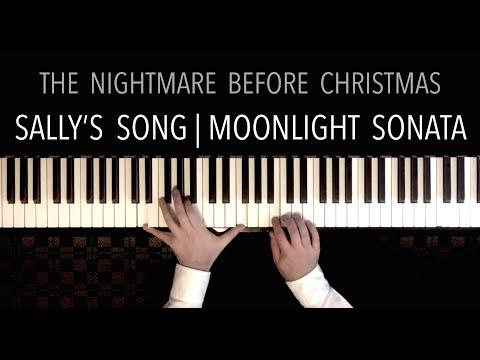 Sally&39;s Song & Moonlight Sonata  Paul Hankinson Piano Cover Danny Elfman meets Beethoven