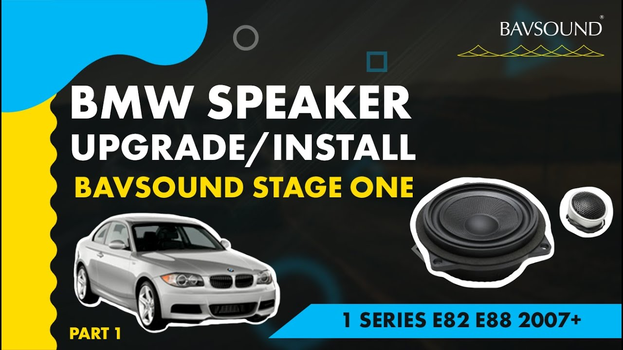 Bavsound Bmw 1 Series Speaker Upgrade 12 Bsw Stage One E8288 07 F20 Fuse Box Youtube