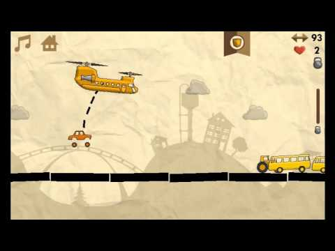 Gameplay of the cross platform game Heli Runner