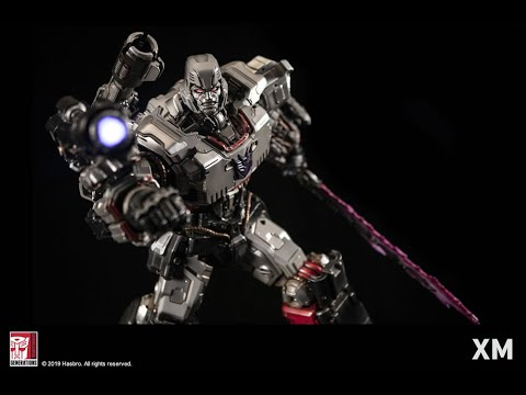 XM Studios Transformers Megatron Statue Official Assembly Video