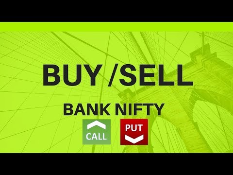 How to Buy and Sell calls and puts -BankNifty Option Trading