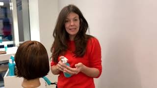 Hair Cutting Demo: Cutting With A Razor For Texture