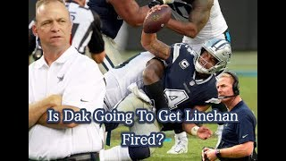 Scott Linehan |Not Guilty| Is Dak Prescott The Future? (Cowboys Vs Panthers Breakdown) MUST WATCH!