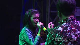 Download Satrio Lahskart feat Crystal (Cinta Kasih Elementary Student) - Almost is never enough - Cover