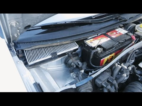 Audi A6 C5 1997-2004 - How To Change Cabin Air Filter