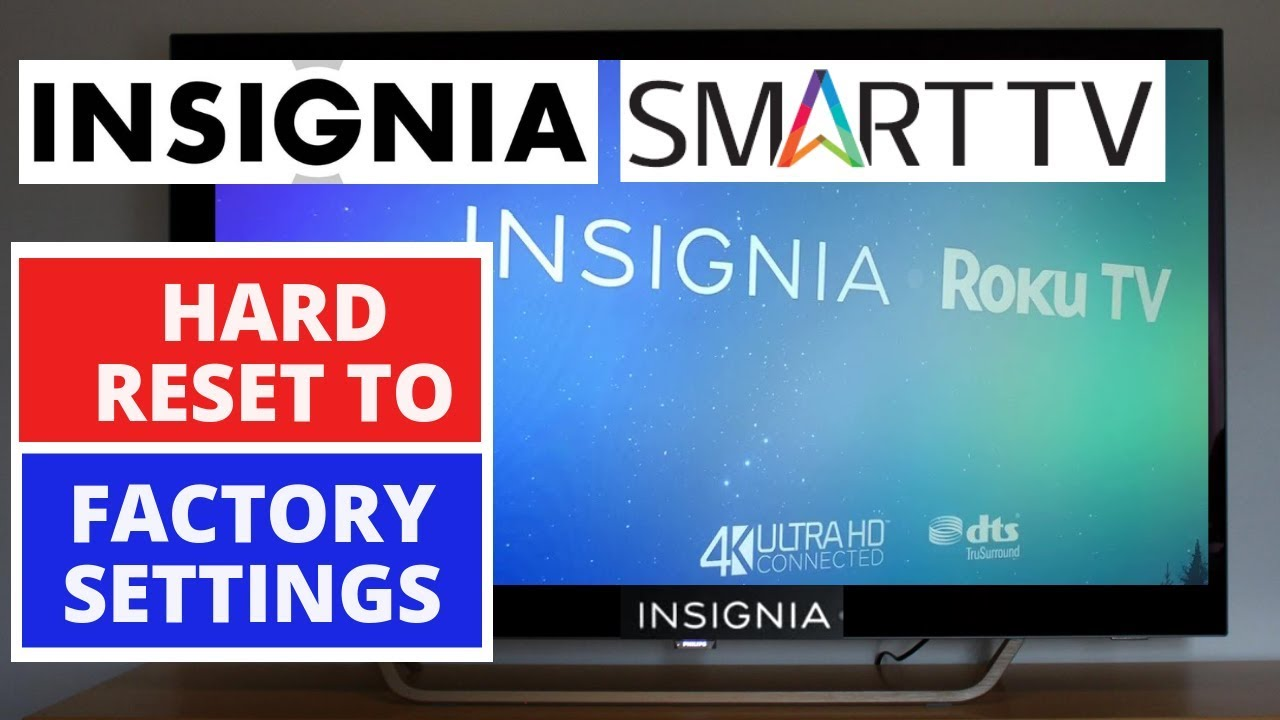 How To Reset Insignia Tv Remote