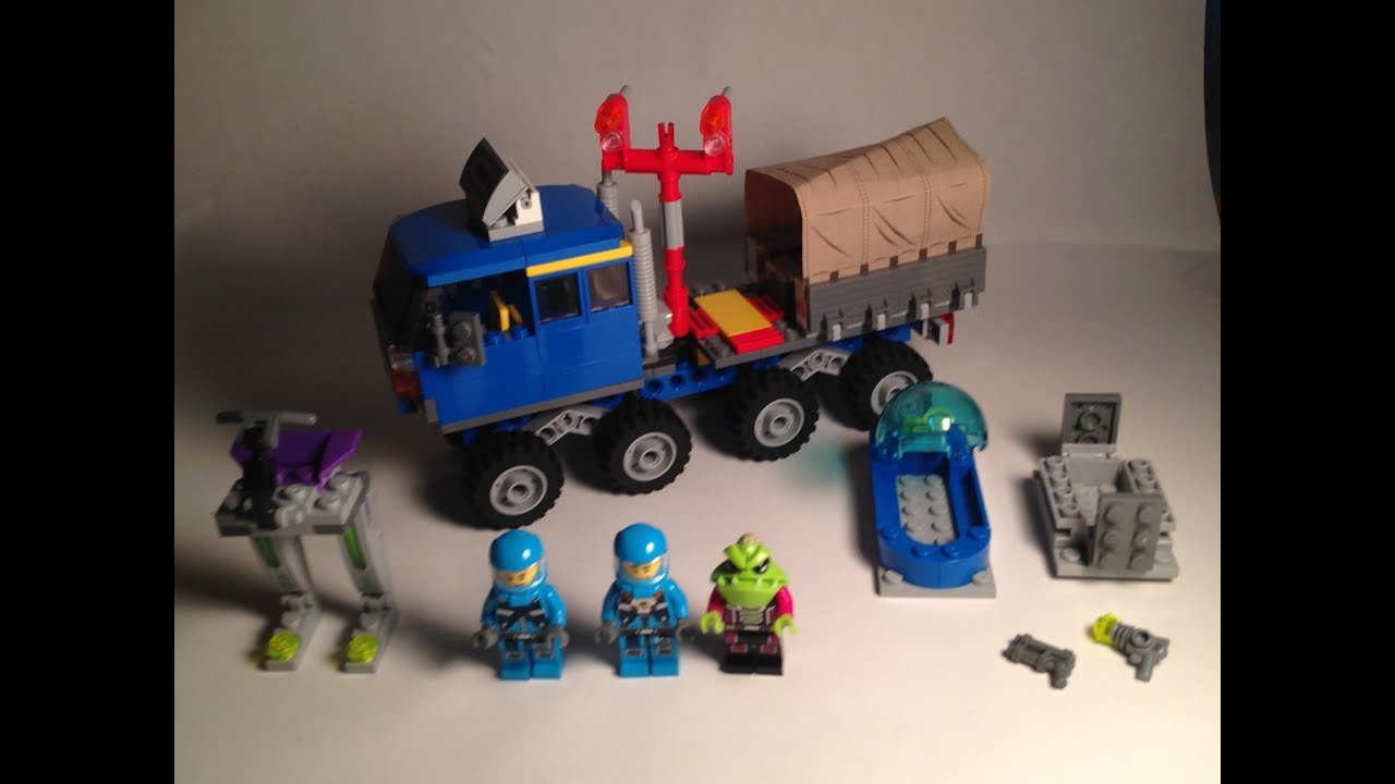 Custom lego set review lego adu offroad canvas truck for How to build an adu