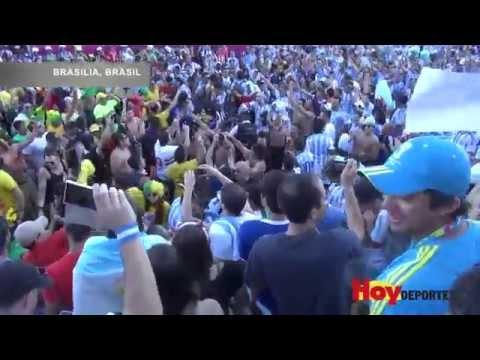 Brasileños y argentinos chocan en Brasilia