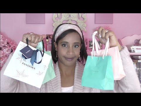 Barcelona Haul Part 2: Pandora, Tiffany & Tous Unboxing!!