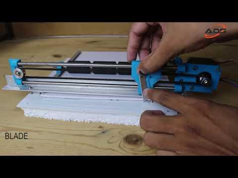 how to make paper cutting machine Arduino based