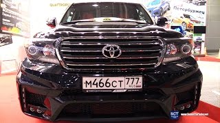 Toyota Land Cruiser V8 by Ferz - Exterior Walkaround - 2016 Moscow Automobile Salon