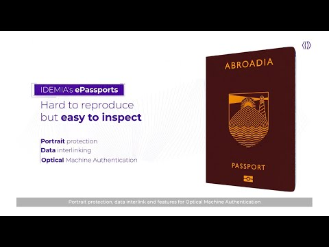 Passports, creating tamper-proof ID documents