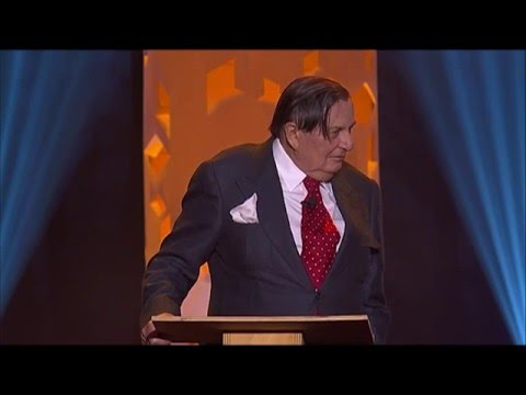 Barry Humphries MC (intro) - 2016 Melbourne International Comedy Festival Great Debate