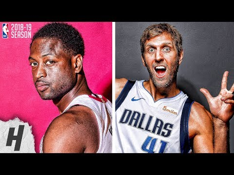 VERY BEST Highlights | Dwyane Wade & Dirk Nowitzki | 2019 All-Star Special Additions