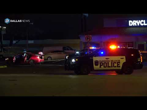 Woman killed, Farmers Branch officer wounded in traffic-stop shooting