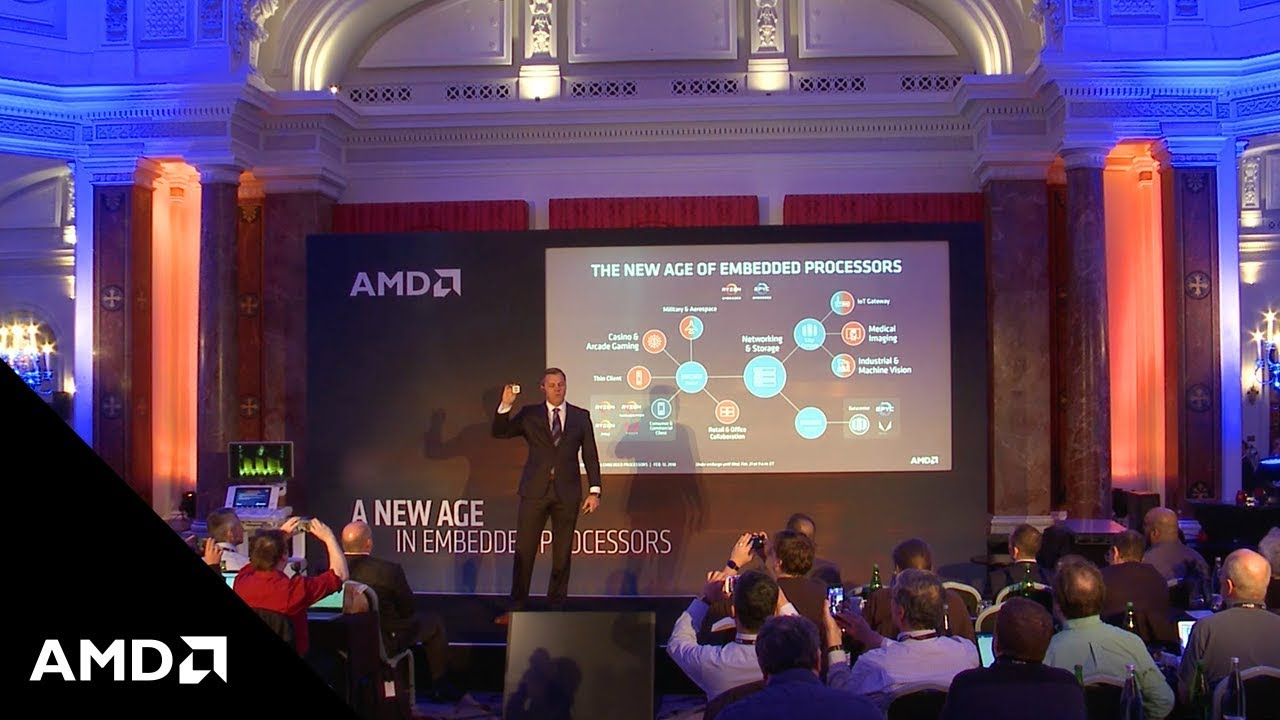 """AMD Launches """"Zen"""" Architecture into the Embedded Space – View the Keynote"""