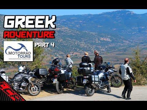 BMW Motorrad Tours Greek Adventure   THE Best Road In Greece!