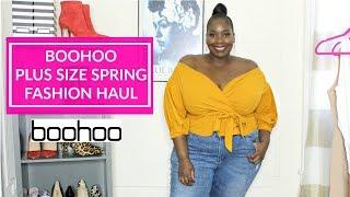 bcc621637abde Boohoo Plus Size Spring Fashion Haul 2019