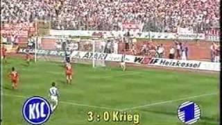 0181992001 - KSC deklassiert die Bayern und Mehmet geht