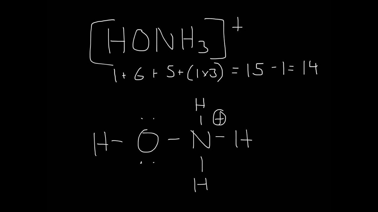 Lewis Structure Honh3 By Gowtham Ganesan