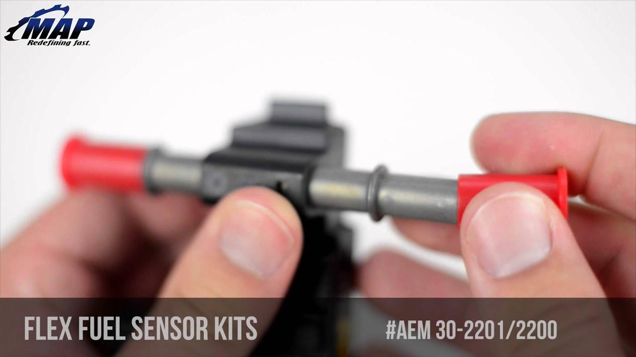 AEM Flex Fuel Ethanol Content Sensor Kits | E85 Review