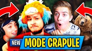 "ON REUSSIT LE ""MODE CRAPULE"" AVEC DEUX ENFANTS SUPER SYMPAS SUR FORTNITE BATTLE ROYALE 🔥 FORTNITE FR"