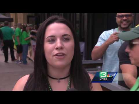 Sacramento businesses cash in on March Madness, St. Patrick's Day