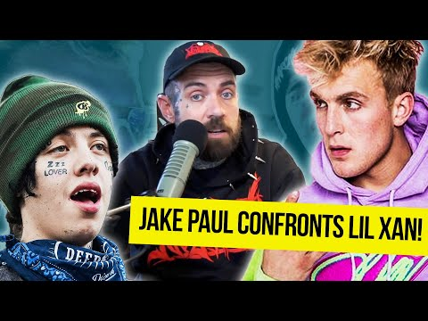 Jake Paul Confronts Lil Xan! Adam22 Reacts