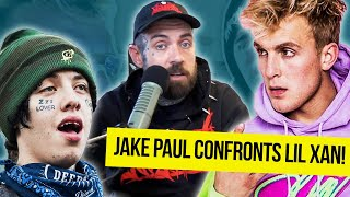 Jake Paul Confronts Lil Xan! Adam22 Reacts