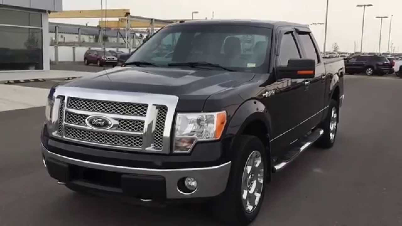 black 2010 ford f 150 xlt xtr at scougall motors in fort macleod youtube. Black Bedroom Furniture Sets. Home Design Ideas