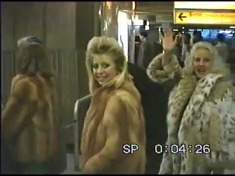 Lindstrom and Kobey Family Trip - Gstaad, Switzerland - New Year's, 1985-1986