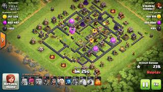 COC How to destroy town hall 11 directly