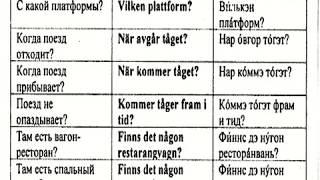 Аудио Шведский Урок № 14,15